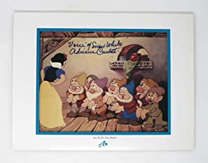 WALT DISNEY'S MASTERPIECE SNOW WHITE and the SEVEN DWARFS SPECIAL EDITION LITHOGRAPH.;