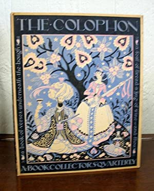 The COLOPHON. A Book Collectors Quarterly, Part Fourteen
