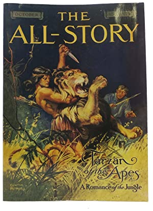 TARZAN Of The APES. A Romance of the Jungle. [as published in] The ALL - STORY. October, 1912