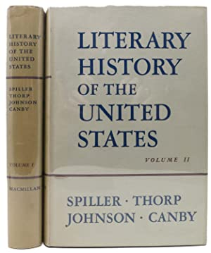 LITERARY HISTORY Of The UNITED STATES. Vol. I & II