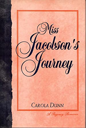 MISS JACOBSON'S JOURNEY. A Regency Romance