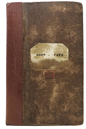 The BOOK Of FATE, Formerly in the: Kirchenhoffer, H[erman]. -