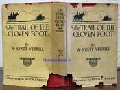 The TRAIL Of The CLOVEN FOOT: Verrill, A[lpheus]. Hyatt [1871 - 1954]