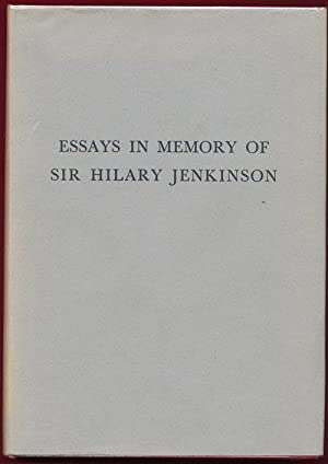 essays memory sir hilary jenkinson abebooks essays in memory of sir hilary jenkinson hollaender albert e