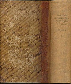 Saxonis Grammatici Historia Danica. Recensuit et Commentariis: MÜLLER, Dr. Petrus
