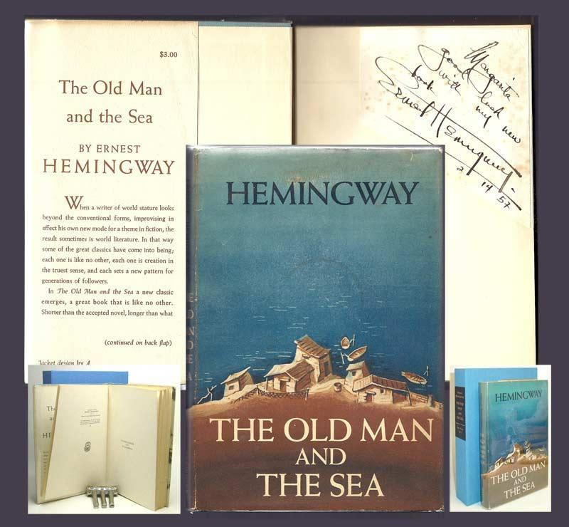 THE OLD MAN AND THE SEA  Signed by Hemingway, Ernest