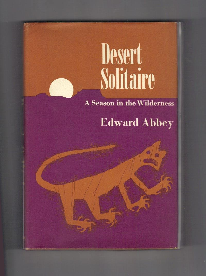 desert solitaire by edward abbey signed abebooks