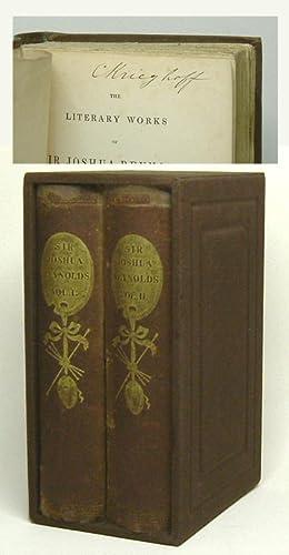 THE LITERARY WORKS OF SIR JOSHUA REYNOLDS.: Krieghoff, Cornelius