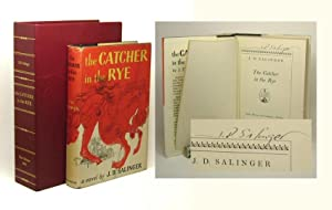 THE CATCHER IN THE RYE. Signed: Salinger, J.D.