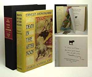 DEATH IN THE AFTERNOON. Signed.: Hemingway, Ernest.