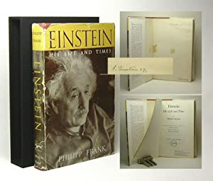 EINSTEIN: His Life And Times. By Philipp: Einstein, Albert