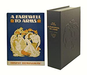 A FAREWELL TO ARMS.Custom Collector's 'Sculpted' Clamshell Case.: Hemingway, Ernest.