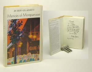 MEMOIRS OF MONTPARNASSE. Signed.: Glassco, John.