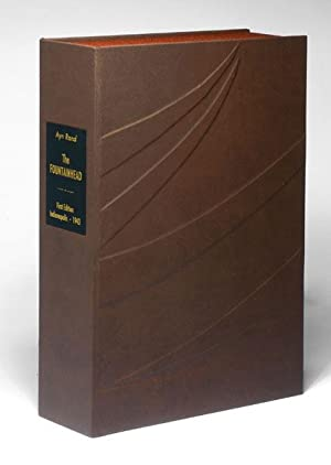 THE FOUNTAINHEAD. Custom Collector's 'Sculpted' Clamshell Case: Rand, Ayn