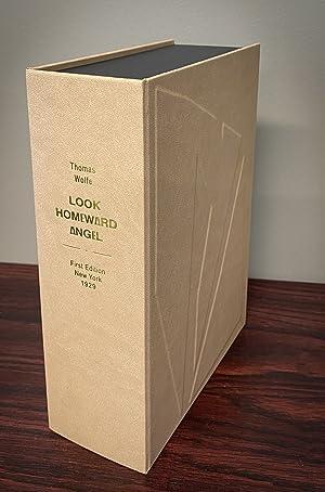 LOOK HOMEWARD ANGEL. Custom Clamshell Case Only.: Wolfe, Thomas.