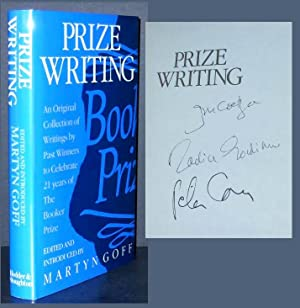 PRIZE WRITING [Signed]. AN ORIGINAL COLLECTION OF: Goff, Martyn [Editor;