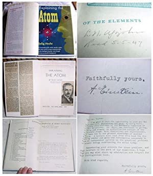 EXPLAINING THE ATOM. Signed. [Lawrence Northcote Upjohn's Copy]