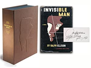 INVISIBLE MAN. Custom Collector's 'Sculpted' Clamshell Case: Ellison, Ralph
