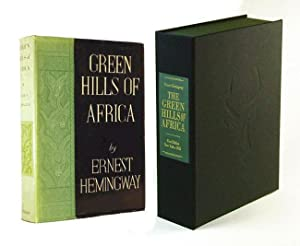 GREEN HILLS OF AFRICA. Custom Collector's 'Sculpted': Hemingway, Ernest
