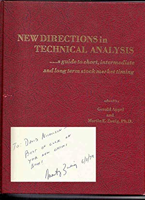 NEW DIRECTIONS IN TECHNICAL ANALYSIS. Inscribed