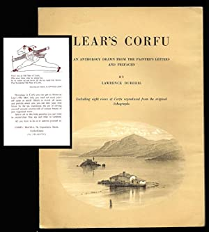 LEAR'S CORFU. An Anthology Drawn From The: Durrell, Lawrence [