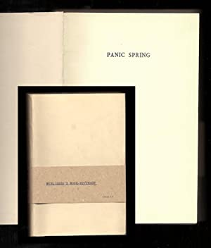 PANIC SPRING: Durrell, Lawrence. [Norden, Charles]