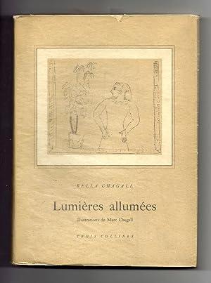 Lumières allumées. Traduction par Ida Chagall. 45: Chagall] Chagall, Bella
