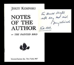 THE PAINTED BIRD. NOTES OF THE AUTHOR.: Kosinski, Jerzy