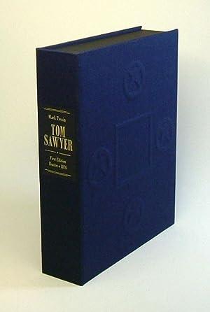 THE ADVENTURES OF TOM SAWYER. Custom Clamshell: Clemens, Samuel Langhorne.]