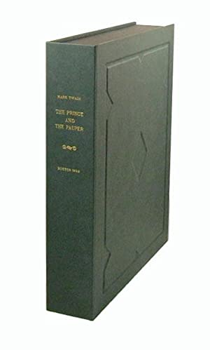 THE PRINCE AND THE PAUPER. Custom Clamshell: Clemens, Samuel Langhorne.]