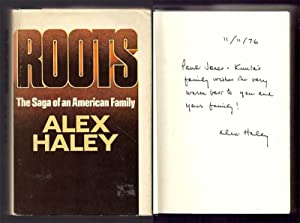 ROOTS. Inscribed: Haley, Alex