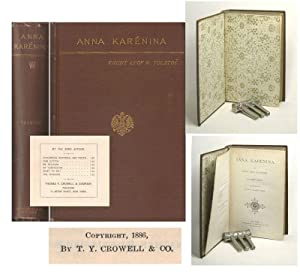 ANNA KARÉNINA. In Eight Parts. Translated by: Tolstoy, Leo. [Lev