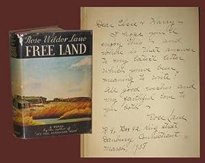 FREE LAND - Signed.: Lane, Rose Wilder