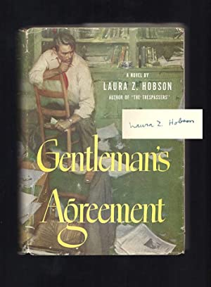 GENTLEMAN'S AGREEMENT. Signed: Hobson, Laura Z.