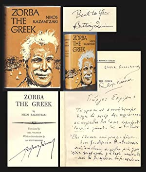 ZORBA THE GREEK, Life and Adventures of: Kazantzaki [Kazantzakis], Nikos.