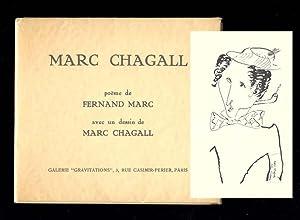 MARC CHAGALL. Poème de Fernand Marc avec: Marc, Fernand, [Chagall,