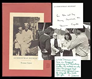 A CHRISTMAS MEMORY. Signed.: Capote, Truman.