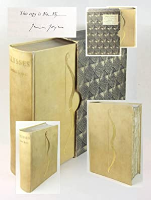 ULYSSES. Signed 1/100 Copies.: Joyce, James.