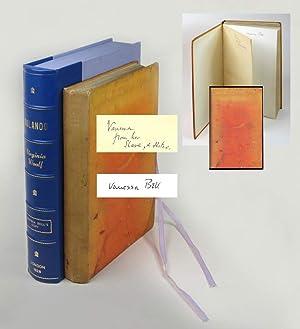 ORLANDO. Presentation Copy To Vanessa Bell: Woolf, Virginia.
