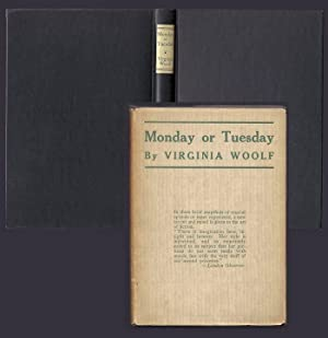 MONDAY OR TUESDAY.: Woolf, Virginia.