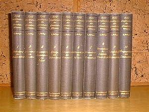 Enzyklopädie des Eisenbahnwesens (10 Bände): Röll, Dr. Freiherr von (Hrsg.) et al