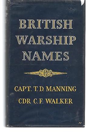 British Warships Names: Capt. T. D.