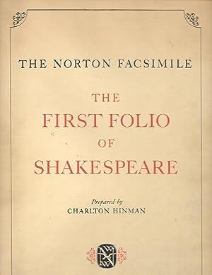 The Norton Facsimile The First Folio Of: William Shakespeare