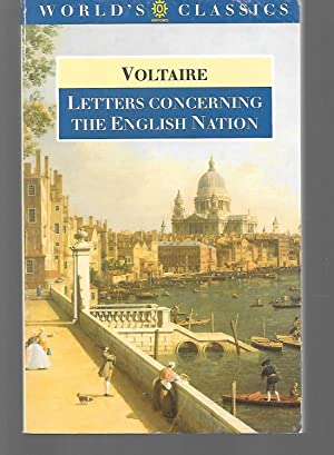 Letters Concerning The English Nation: Voltaire