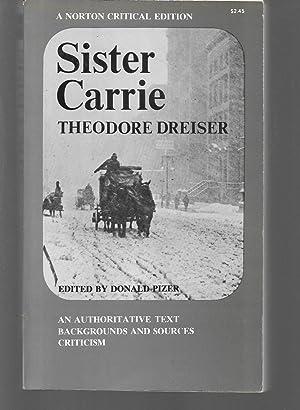 sister carrie: theodore dreiser