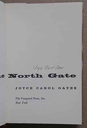 By The North Gate (Signed 1st edition): Oates, Joyce Carol