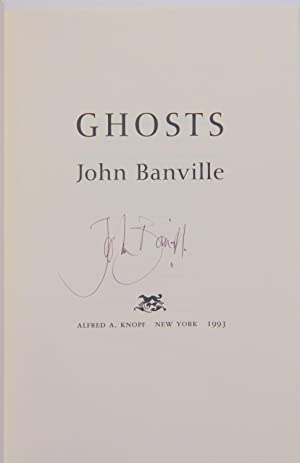 Ghosts (Signed 1st US edition): Banville, John