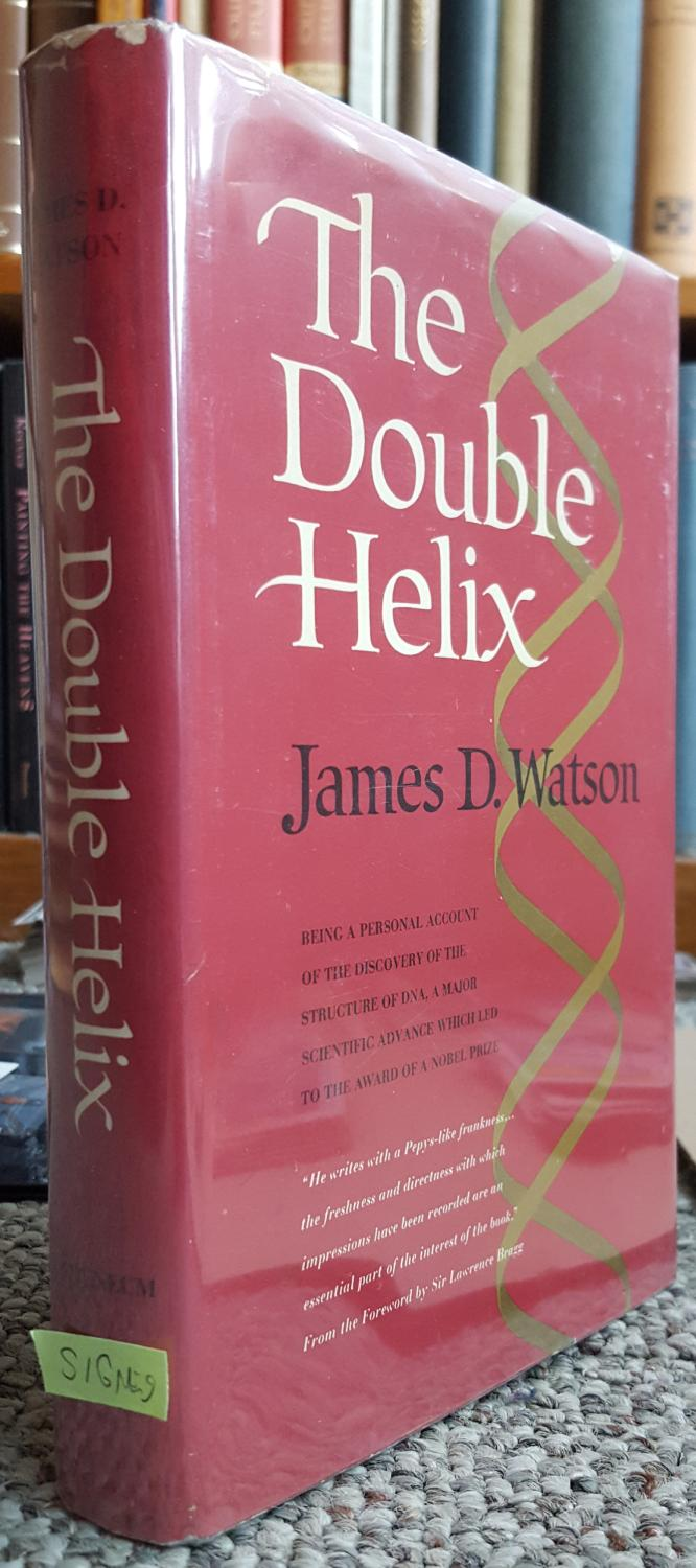 bookreport the double helix by james watson The double helix and millions of other books are  comment report abuse russell a  a personal account of the discovery of the structure of dna, james d watson.