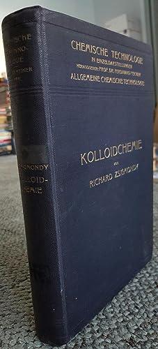 Kolloidchemie: Ein Lehrbuch.: ZSIGMONDY, Richard (1865-1929):
