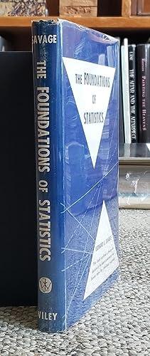 The Foundations of Statistics.: SAVAGE, Leonard J. [Jimmie] (1917-1971):